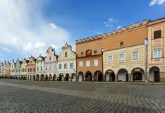 Telc, Czech Republic - Unesco city Royalty Free Stock Photos