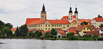 Telc in Moravia Stock Photos