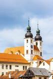 Telc, República Checa Foto de archivo libre de regalías