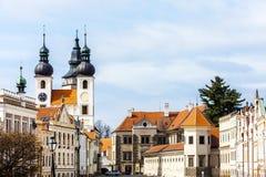 Telc, República Checa Fotos de archivo