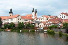 Telc, UNESCO city in Czech Republic Stock Photography