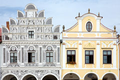 Telc - UNESCO heritage Stock Photos