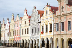 Telc - UNESCO Heritage Stock Photo