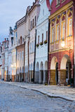 Telc - UNESCO heritage Royalty Free Stock Photos