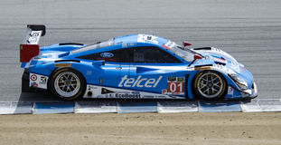 Telcel Ford EcoBoost Riley prototype. Monterey California, May 4, 2014, Laguna Seca Monterey Grand Prix, 3rd place finisher Scott Pruett in the Telcel Ford Stock Images