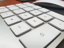 Telclado numérico numérico foto de archivo libre de regalías