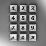 Telclado numérico Imagenes de archivo