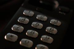 Telclado numérico Imagen de archivo libre de regalías