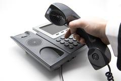 Telclado numérico de marca del teléfono del IP Fotos de archivo libres de regalías