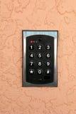 Telclado numérico del número Fotografía de archivo libre de regalías