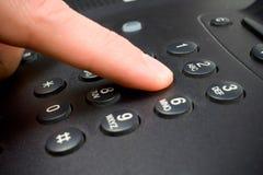 Telclado numérico del teléfono Imagen de archivo libre de regalías