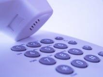 Telclado numérico del teléfono Fotos de archivo libres de regalías