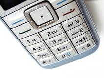 Telclado numérico del teléfono celular Fotografía de archivo libre de regalías