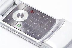 Telclado numérico del teléfono celular de Motorala Foto de archivo libre de regalías