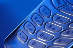 Telclado numérico del teléfono de la venta Imagen de archivo