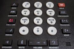 Telclado numérico del teléfono de VOIP imágenes de archivo libres de regalías