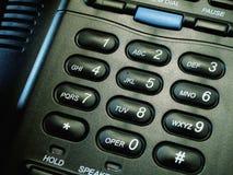 Telclado numérico del teléfono del asunto Fotos de archivo libres de regalías