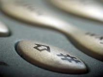 Telclado numérico del teléfono móvil Foto de archivo libre de regalías