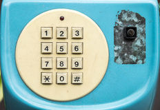 Telclado numérico del teléfono para la reparación Foto de archivo