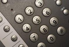 Telclado numérico moderno del teléfono imagen de archivo libre de regalías