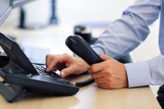 Telclado numérico de marca del teléfono Foto de archivo libre de regalías