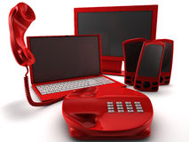 Telco Bundle Royalty Free Stock Images