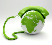 Telco Concept Stock Photo
