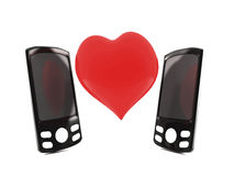 Telco Love Royalty Free Stock Photography