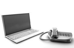 Telco Services Stock Photo