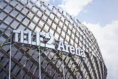 Tele2竞技场斯德哥尔摩 库存照片