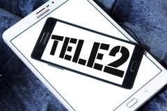 Tele2 AB firmy logo Obrazy Stock