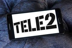 Tele2 AB firmy logo Obraz Stock