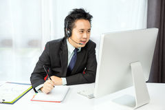 Tele Conference Stock Photography