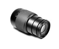 Tele photo lens Royalty Free Stock Image