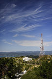 Tele-radio tower. Stock Photo