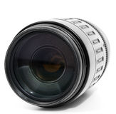 Tele zoom lens isolated Stock Photography