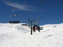 Telecadeira da montanha Foto de Stock