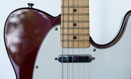 telecaster gitary elektrycznej Obrazy Royalty Free