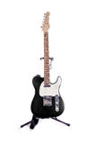 Telecaster Style Guitar Grey Royalty Free Stock Image