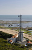 Telecom Antenna Along the Atlantic Coast Royalty Free Stock Images