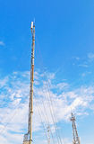 Telecom antenna Royalty Free Stock Photo