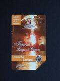 Telecom Italia dzwoni kartę w Rzym Obraz Royalty Free