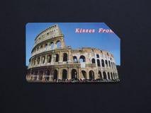 Telecom Italia dzwoni kartę w Rzym Zdjęcia Royalty Free