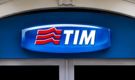 Telecom Italia Mobile Stock Photo