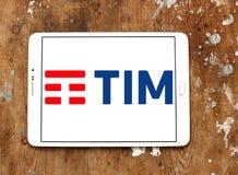 Telecom Italia, TIM logo Zdjęcie Stock
