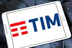 Telecom Italia, TIM logo Zdjęcia Royalty Free