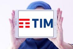 Telecom Italia, TIM logo Obraz Royalty Free