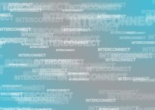 Telecom mobile business interconnect texture grey turquoise conc. Telecom mobile fixed business interconnect wholesale texture grey turquoise concept Royalty Free Stock Image