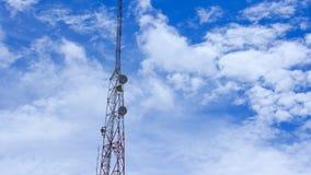 Telecom pole, telecom tower stock video