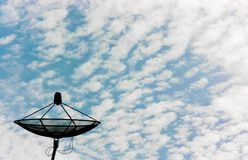 Telecom in the sky Stock Photography